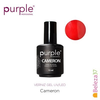Verniz Gel UV/LED 15ml PURPLE 771 – CAMERON