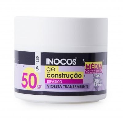 Gel Construção Inocos Média Viscosidade - Transparente Violeta 50g