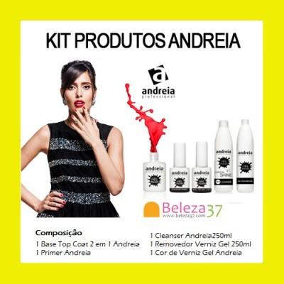 Kit de Produtos Andreia para Verniz Gel