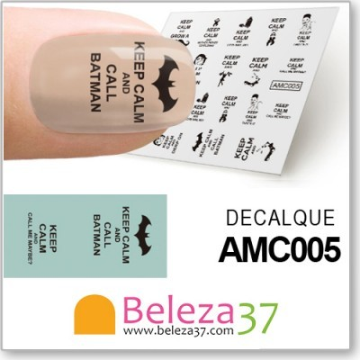 Decalques Keep Calm (AMC005)
