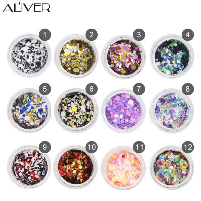 12 Glitters para Nail Art