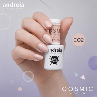 Verniz Gel Andreia CO2 - Nude Pastel