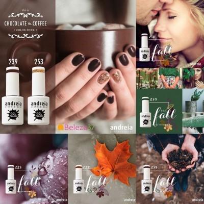"""Verniz Gel Andreia – Coleção """"Chocolate & Coffee"""""""