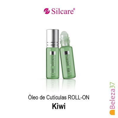 Óleo de Cutículas Roll On Silcare 11ml - Kiwi