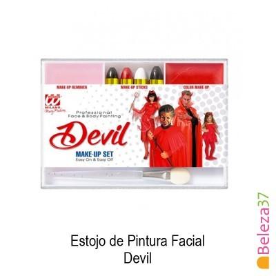 Estojo de Pintura Facial - 07 - Devil (Diabo)