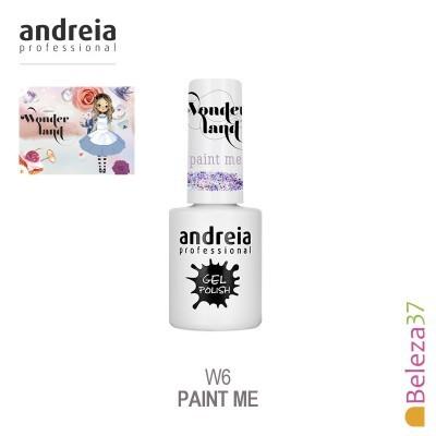 Verniz Gel Andreia W6 – Paint Me (Glitter Multicolor Fantasia)