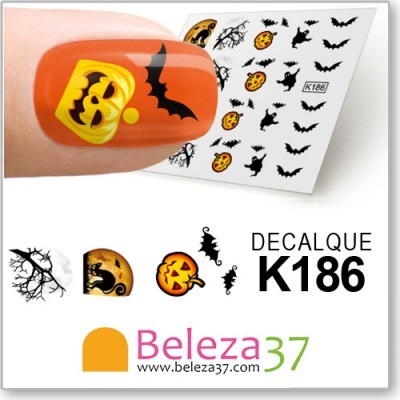 Decalques de Halloween (K186)