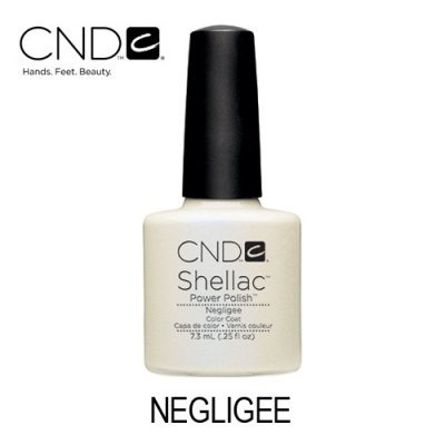 CND Shellac – Negligee (Branco Translúcido Perolado)