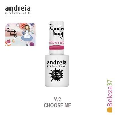 Verniz Gel Andreia W2 – Choose Me (Rosa Bombom)