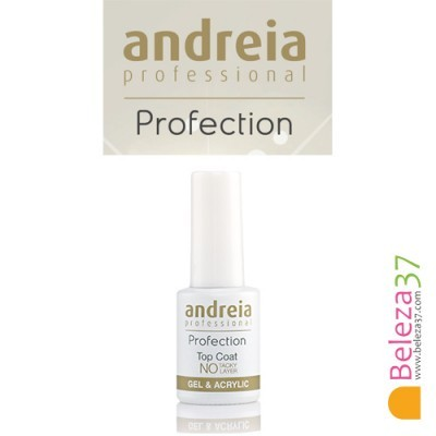 Top Coat Para Gel e Acrílico Sem Goma Andreia Profection