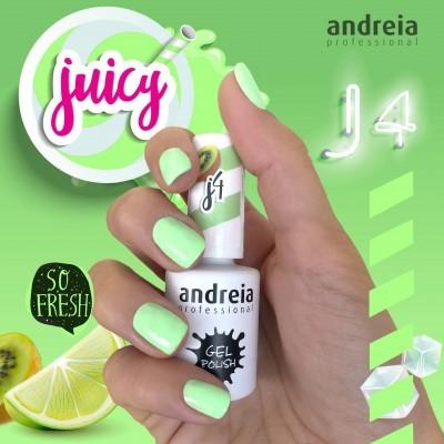 Verniz Gel Andreia J4 - Verde Néon Pastel