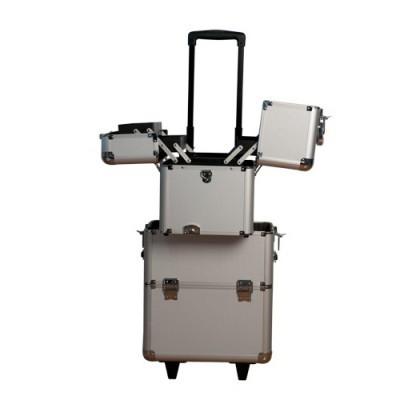 Trolley em Alumínio Preto