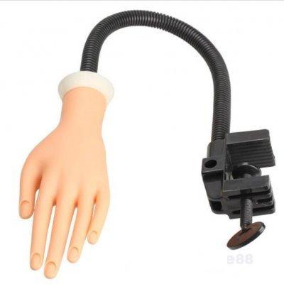 Mão de Borracha Articulada para Treino