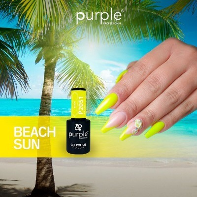 Verniz Gel PURPLE P2051 – Beach Sun