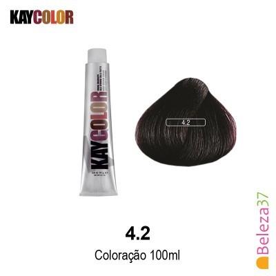 KayColor Coloração 100ml - Cor 4.2