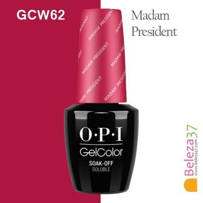 OPI GC W62 – Madam President