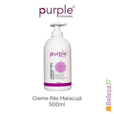 Creme Pés Maracujá Purple 500ml