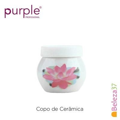 Copo de Cerâmica Purple