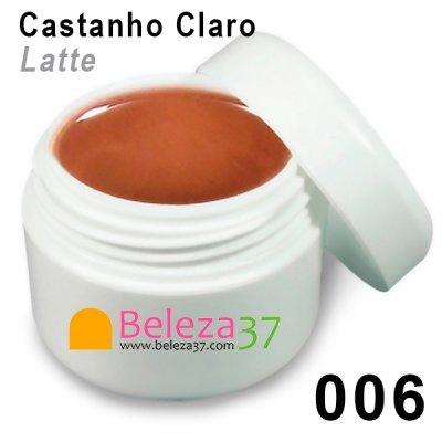 Gel de Cor 006 – Castanho Claro (Latte)