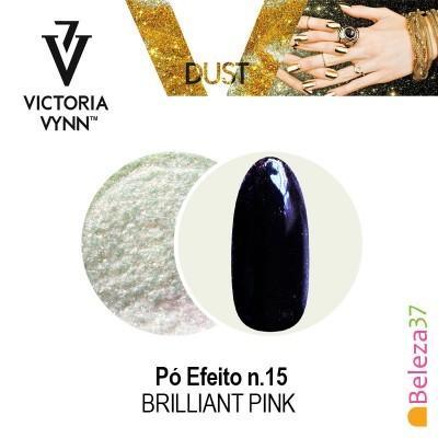 Pó Efeito Victoria Vynn n.15 Brilliant Pink (Rosa Brilhante)