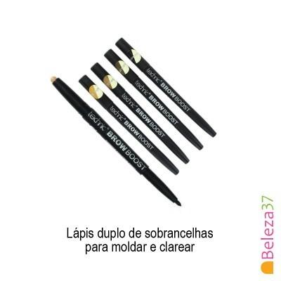 TECHNIC BROW BOOST - Lápis duplo de sobrancelhas para moldar e clarear