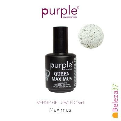 Verniz Gel UV/LED 15ml PURPLE 633 – MAXIMUS (Linha Queen)