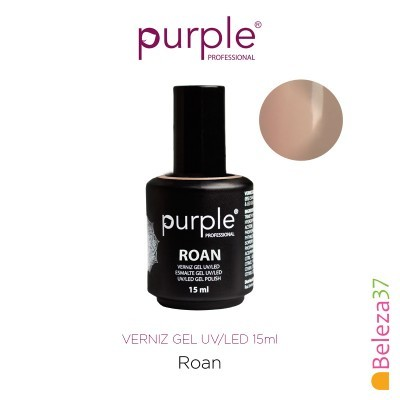 Verniz Gel UV/LED 15ml PURPLE 645 – ROAN