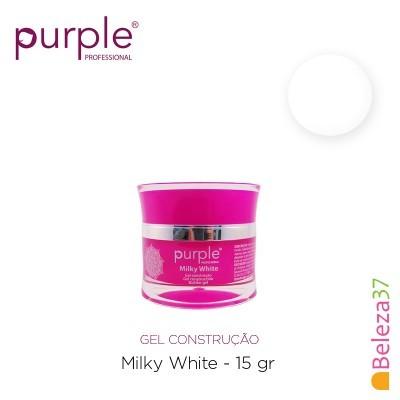 Gel Construtor Purple Milky White – Branco Leitoso 15g