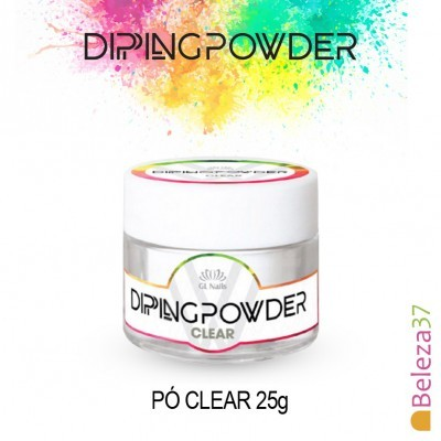 Dipping Powder Clear 25g (Pó de Imersão Transparente)