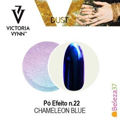 Pó Efeito Victoria Vynn n.22 Chameleon Blue (Azul Camaleão)