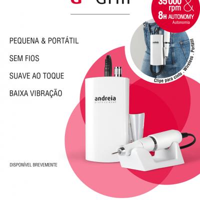 a.drill Andreia - Broca Micromotor Sem Fios Portátil (ENVIO EM 4 DIAS ÚTEIS)