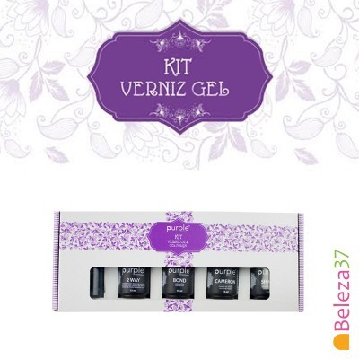 Kit Verniz Gel Purple