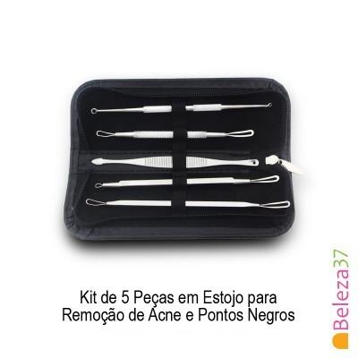Kit para Remoção de Acne e Pontos Negros