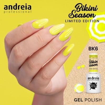 Verniz Gel Andreia BK6 – Amarelo Néon