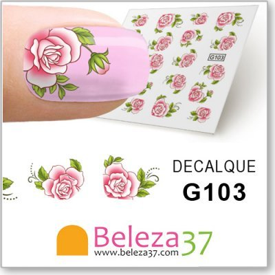 Decalques da Flor (G103)