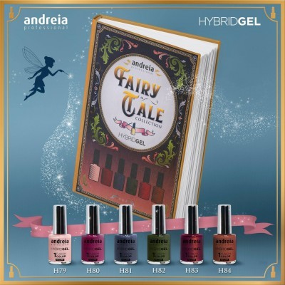 HYBRID GEL ANDREIA – Fairy Tale Collection (6 Cores)