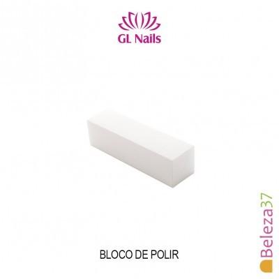 Bloco de Polir Branco GL Nails 220/240