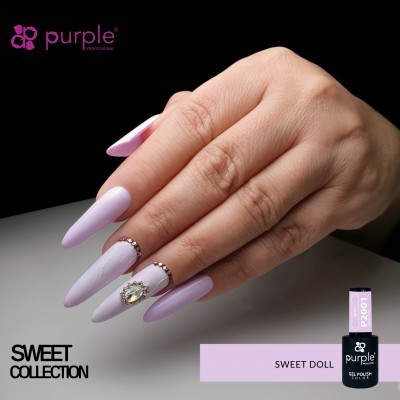 Verniz Gel PURPLE P2001 – Sweet Doll