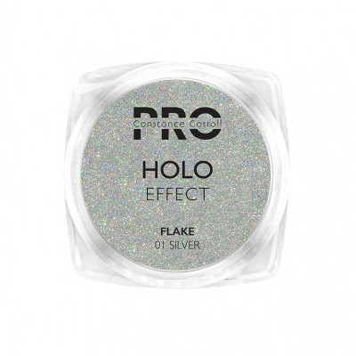 Pigmento Holographic Flake Constance Carroll - Silver 01