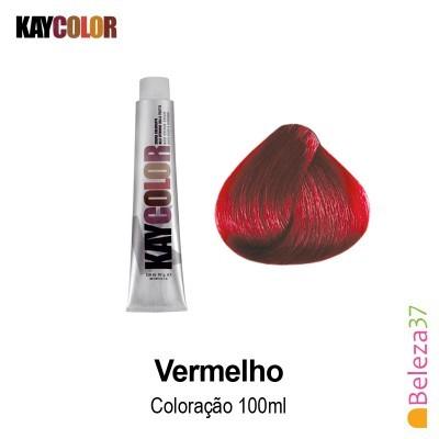 KayColor Coloração 100ml - Vermelho