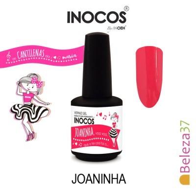 Verniz Gel Inocos 156 – Joaninha (Vermelho Rosado)