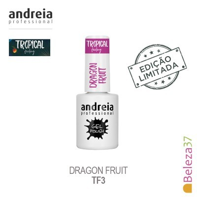 Verniz Gel Andreia TF3 – Dragon Fruit (Roxo Vivo)