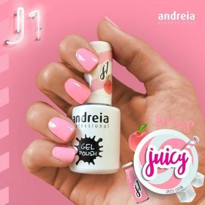 Verniz Gel Andreia J1 - Rosa Néon Pastel