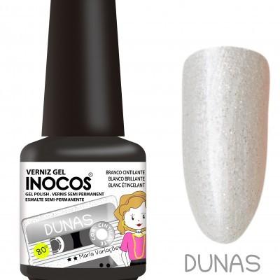 Verniz Gel Inocos – Dunas (Branco Cintilante)