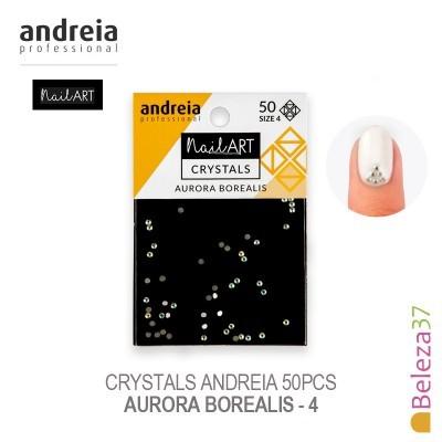 Crystals Andreia 50pcs - Aurora Borealis 4