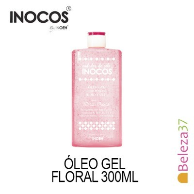 Óleo Gel Hidratante Inocos - Aroma Floral e Fresco 300ml
