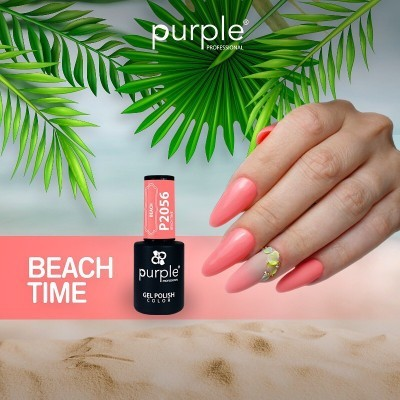 Verniz Gel PURPLE P2056 – Beach Time