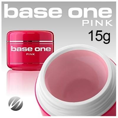 Gel de Construção Base One – Rosa Leitoso 15g