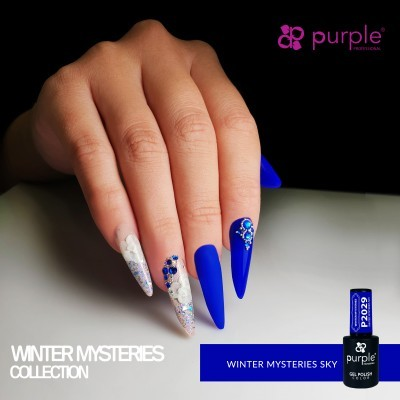 Verniz Gel PURPLE P2029 – Winter Misteries Sky