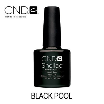 CND Shellac – Black Pool 40518 (Preto)
